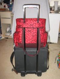 PT on luggage