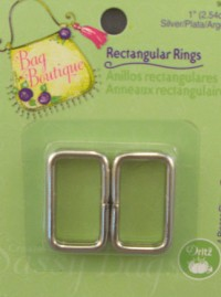 Rectangle-Rings-Silver