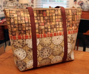 Laura's Zippered Tote