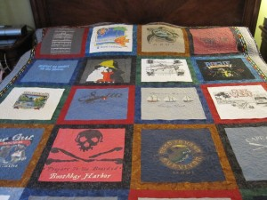 Quilt is on the bed!